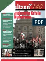 140 iraultzen (aldizkari sindikala, revista sindical, journal syndical)