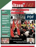 142 iraultzen (aldizkari sindikala, revista sindical, journal syndical)