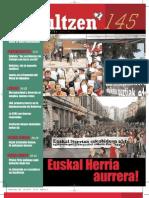 145 iraultzen (aldizkari sindikala, revista sindical, journal syndical)