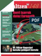 148 iraultzen (aldizkari sindikala, revista sindical, journal syndical)