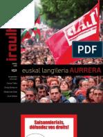 152 iraultzen (aldizkari sindikala, revista sindical, journal syndical)