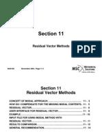 Residual Vectors