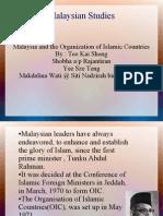 Malaysian Studies