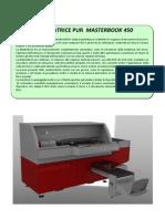 MasterBook450 Scheda Tecnica