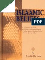 Islaamic Beliefs by Dr Mufti Abdul Waahid