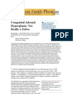 Congenital Adrenal Hyperplasia - ARTICLE AFP