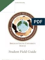 David O. McKay Center Student Field Guide