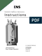 JFR Instruction Manual AVR