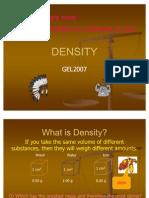 DENSITY of Materials