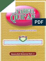Maariful Quran -English- Mufti Muhammad Shafi (r.a) Vol 4