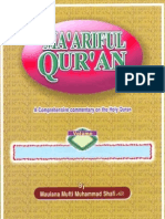 Maariful Quran -English- Mufti Muhammad Shafi (r.a) Vol 8