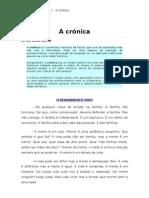 A crónica
