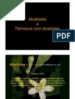 alcaloides - Farmacognosia