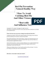 Bird Flu Prevention