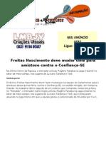 Freitas Nascimento deve mudar time para amistoso contra o Confiança-SE