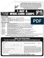 Be Nik 2012 Camps Flyer