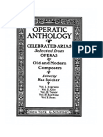Operatic anthology for Alto (or Mezzo soprano)