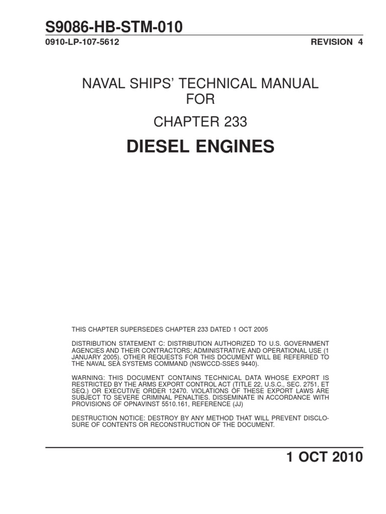 chap233 rev4 internal combustion engine piston rh scribd com navy technical manuals website navy technical manual library