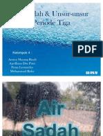Air Sadah & Unsur-Unsur Periode Tiga