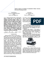 Functional Safety Management Aspects in Testing of Automotive Safety Concern Systems