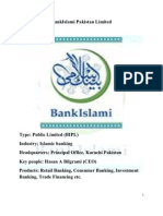 Brand Management (BRAND AUDIT) BankIslami