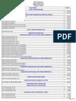 Pop Peshawar Price List Jan 11,2012