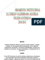 Plan de Mejoramiento I.E.J Emilio Valderra -2009