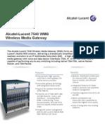 7540 WMG Datasheet v1