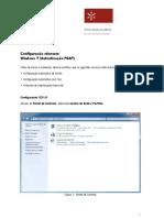 UMinho SCOM Eduroam WinSeven PEAP Conf Manual PT