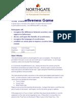 Assertiveness Game
