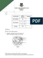 Curricular Assessment 2 Biology f42011