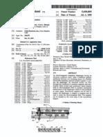 Planar electromagnetic transducer (US patent 5430805)