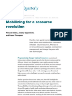 Mobilizing for a Resource Revolution