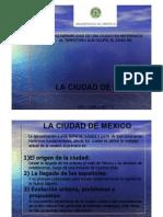 LA VULNERABILIDAD DE UNA CIUDAD EN REFERENCIA EL CASO DE CIUDAD DE MEXICO