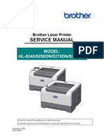 Brother Service Manual - 5240,5250D,5270DN