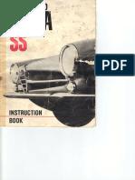 Alfa Romeo Giulia SS instruction manual part 1