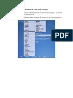 Instalacion SuSE Linux