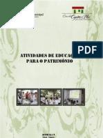 EDUCAÇÃO PATRIMONIAL NAS ESCOLAS [2012]