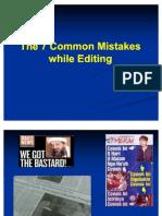 8 Sins of News Editing