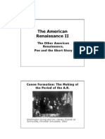 The American Renaissance II