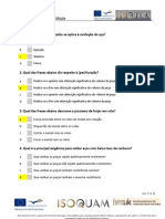 Portuguese Multiple Choice Test Summary