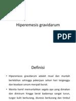 Hiperemesis gravidarum