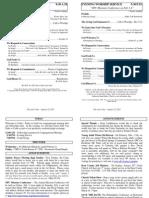 Cedar Bulletin Page - 01-22-12