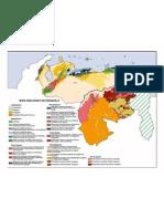 mapa geológico venezuela