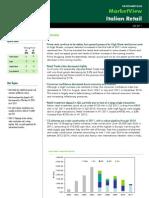 Italy Retail Market View Q2 2011
