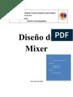 Informe de Mixer Final