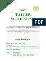 Taller Autoestima