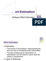 Effort Estimation