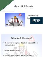 A study on Skill Matrix