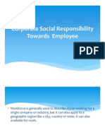 78118353 Corporate Social Responsibility Towards Employee
